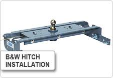 B&W Hitch Installation